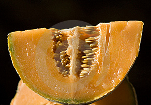 Half A Melon Stock Photography - Image: 10094902