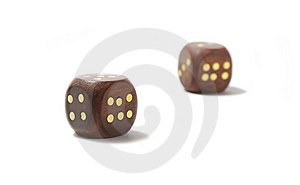 Dice Royalty Free Stock Photos - Image: 10095188