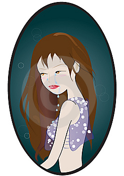 Crying Girl Stock Photos - Image: 10095683