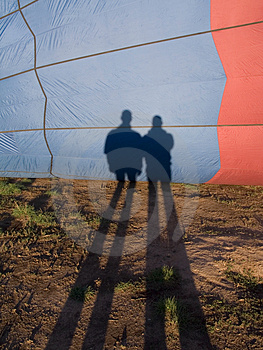 Balloon Shadows Stock Photography - Image: 1018152