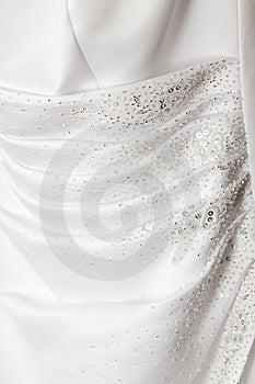 Wedding Dress Detail Royalty Free Stock Photos - Image: 10100908