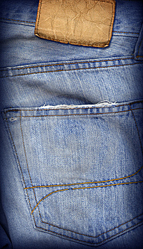 Jeans Texture Royalty Free Stock Image - Image: 10101046