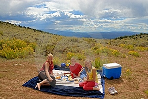 Sunday Picnic. Stock Photos - Image: 10104733