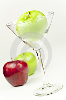 Apple Martini Royalty Free Stock Images - Image: 10109239