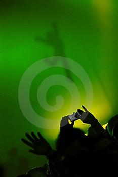 Shooting The Shadow Stock Photo - Image: 10112200