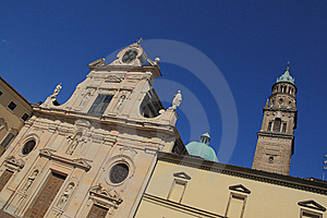 San Giovanni Church In Parma Stock Photos - Image: 10113363