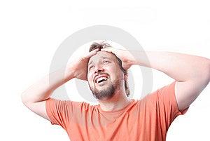 Desperate Man Stock Image - Image: 10114611