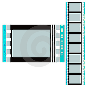 Color Film 70mm. Royalty Free Stock Image - Image: 10115186
