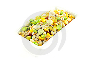 Soup Pulses In A Dish Stock Photo - Image: 10117200