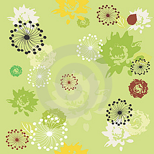 Floral Seamless Background Stock Photography - Image: 10119082