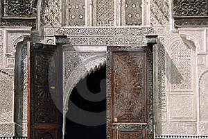 Bou Inania Madrassa In Fez, Morocco Stock Images - Image: 10119644