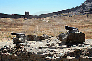 Wall Of A Fortress Stock Photography - Image: 10120062