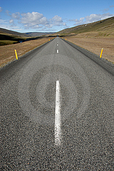 Empty Straight Road Royalty Free Stock Photo - Image: 10121135