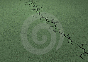 Crack Stock Photo - Image: 10130430