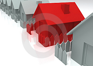 3d House Royalty Free Stock Photo - Image: 10130735