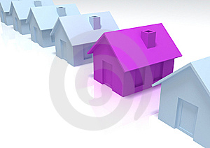 3d House Royalty Free Stock Photos - Image: 10130748
