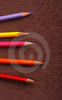 Colored Pencils Stock Photos - Image: 10130813