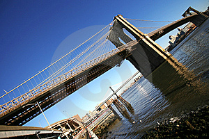 Classical NY -Brooklyn Bridge Stock Photography - Image: 10130842