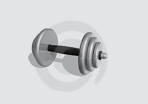 Barbell Stock Photo - Image: 10131580