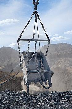 Huge Metal Bucket Royalty Free Stock Photos - Image: 10132478