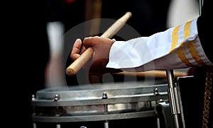барабанщик мальчика Стоковая Фотография - изображение: 10135062