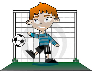 Goalie Royalty Free Stock Photography - Image: 10135257
