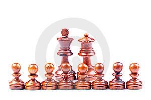 Protecting King And Queen Stock Photos - Image: 10136753