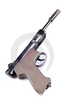 Air Pistol Royalty Free Stock Photography - Image: 10136887