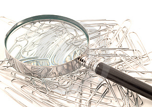 Paperclips Royalty Free Stock Photo - Image: 10138595