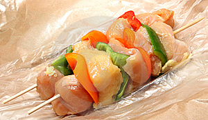 Chicken Shish Kabob Stock Photos - Image: 10141633