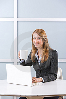 Business Woman In Modern Office Royalty Free Stock Photos - Image: 10144558