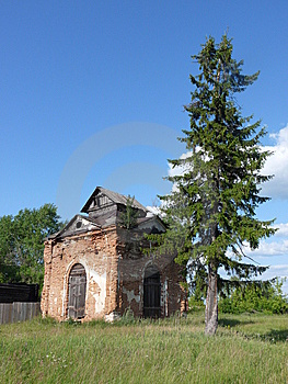 Ruin Of Chapel Royalty Free Stock Photography - Image: 10144947