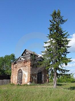 Ruine Der Kapelle Lizenzfreie Stockfotografie - Bild: 10144947