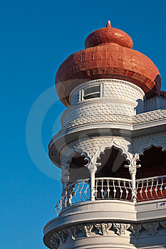 Old Russian Embassy Tower Royalty Free Stock Images - Image: 10145099
