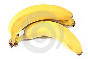 Fresh Yellow Banana Royalty Free Stock Photo - Image: 10146175