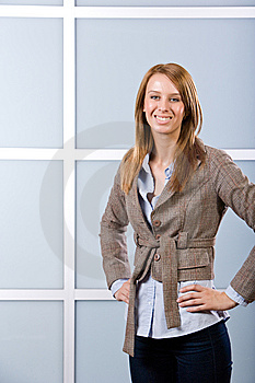Business Woman In Modern Office Royalty Free Stock Photo - Image: 10149125