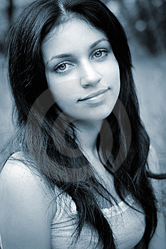 Portrait Of Beauty Girl Royalty Free Stock Photography - Image: 10149187