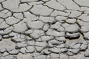 Drought Cracks Stock Photo - Image: 10150330