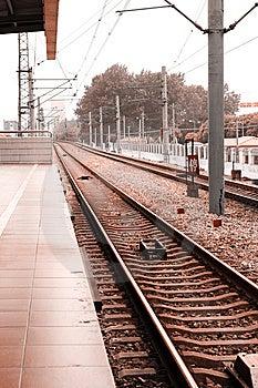 Railway Royalty Free Stock Photos - Image: 10150478