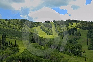 Ski Area Stock Photo - Image: 10152870