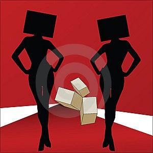 Dismorphic Fashion Models Stock Photography - Image: 10153342