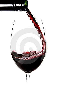 Close Up Of Pouring A Glass Of Wine Stock Photo - Image: 10159150