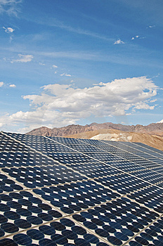 Solar Panel Royalty Free Stock Photography - Image: 10160317