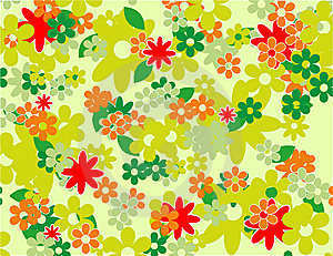 Floral Seamless Pattern Royalty Free Stock Image - Image: 10161076