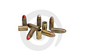Pile Of 9mm Cartridges And Cases Stock Images - Image: 10165874