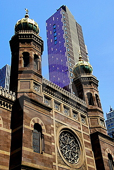 NYC: Historic Central Synagogue Royalty Free Stock Photography - Image: 10167357