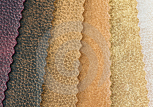Samples Of Artificial Skin Royalty Free Stock Image - Image: 10168906