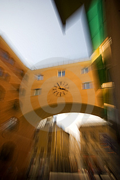 Clock In Stockholm Stock Photos - Image: 10169403