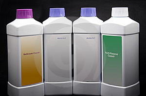 Cleaning Products. Royalty Free Stock Photography - Image: 10172927