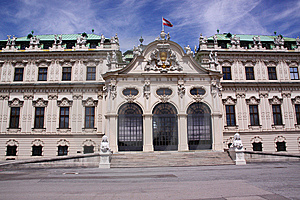 Palace Belvedere Stock Photos - Image: 10174493